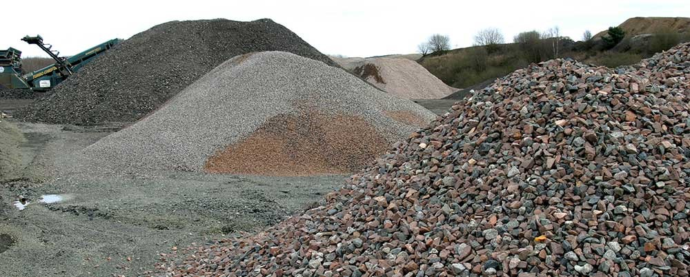 انواع سنگدانه مورد نیاز در ساخت بتن