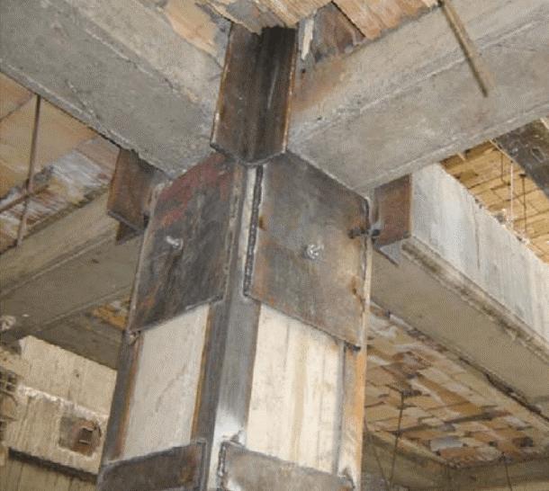 مقاوم سازی با استفاده از ژاکت فولادی