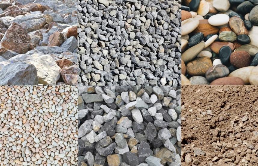 شکل و نوع سنگدانهها
